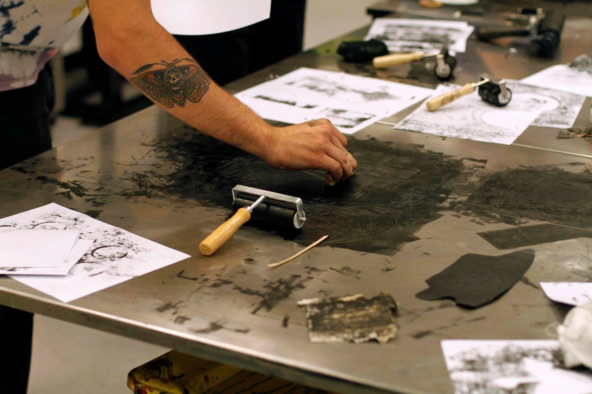 taller serigrafia